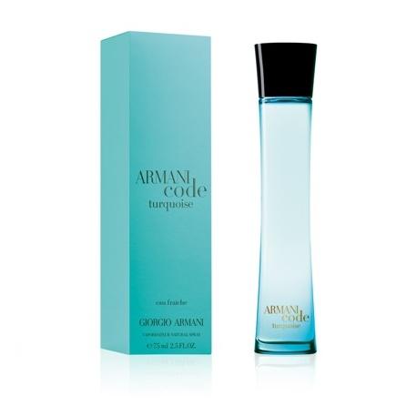 Giorgio Armani Code Turquoise Eau Fraiche dámská 75 ml